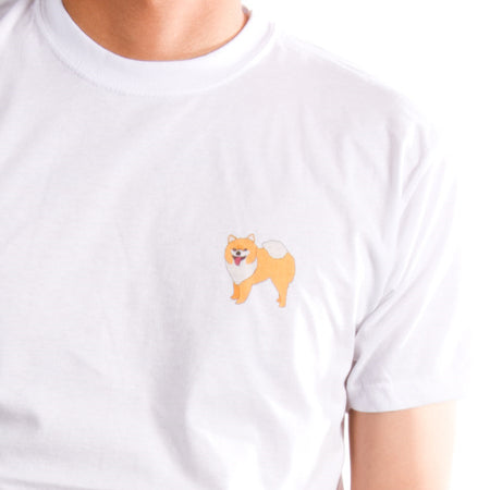 Corgi T-Shirt - Light Pink