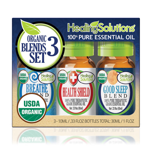 Organic Blends 3 Set Gift Set