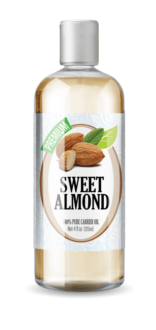 Sweet Almond Oil 4oz - Box of 3