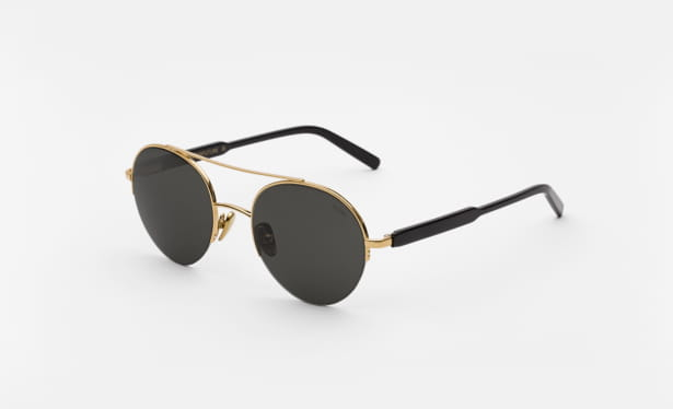 black gold sunglasses retrosuperfuture