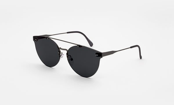 Black stylisch sunglasses Retrosuperfuture