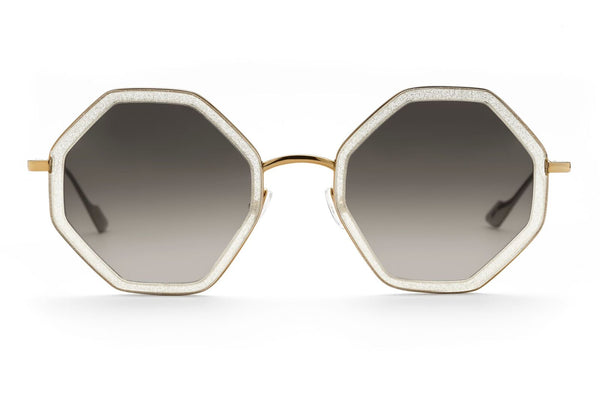Sunday Somewhere sunglasses Hitomi gold glitter