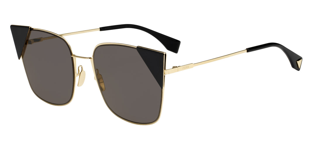 Fendi Lei FF0191/S  Color 000/2M Size 55 Black gold sunglasses trendy designer eyewear best buy online