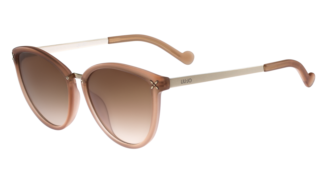 Liu-Jo 28954  Color 201 Size 56/17 Nude gold trendy designer sunglasses best buy fashion eyewear amazing gaze webshop