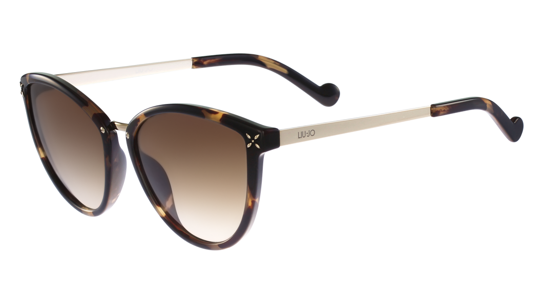 Liu-Jo 28954  Color 215 Size 56/17 Brown tortoise gold degrade sunglasses best buy fashion eyewear amazing gaze online webshop