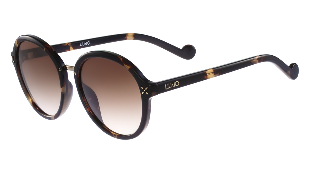 Liu-Jo 28956  Col 215 Size 55/19 Tortoise brown degrade trendy designer sunglasses best buy fashion eyewear amazing gaze online webshop