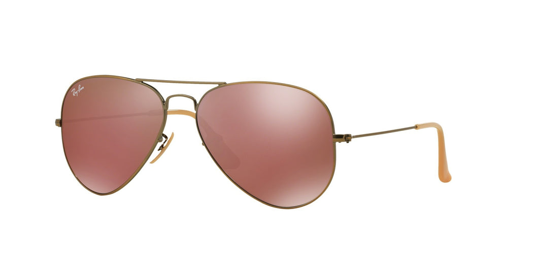 Ray-ban aviator large RB3025 167/2K mirror sunglasses eyewear designer
