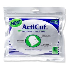 ActiCuf™ for men's light/medium bladder leak protection