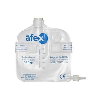 Afex® 500 ml Standard Direct Connect Vented Bag