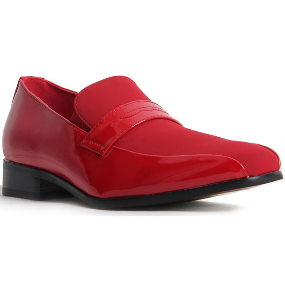 Padded Insole Smart Faux Suede Shoes - Monzese (Red)