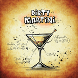 Side Table Square Dirty Martini