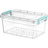 Plastic Storage Box Containers With Lid - 5.5L