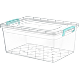 Plastic Storage Box Containers With Lid - 10L