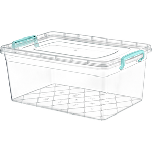 Plastic Storage Box Containers With Lid - 15L