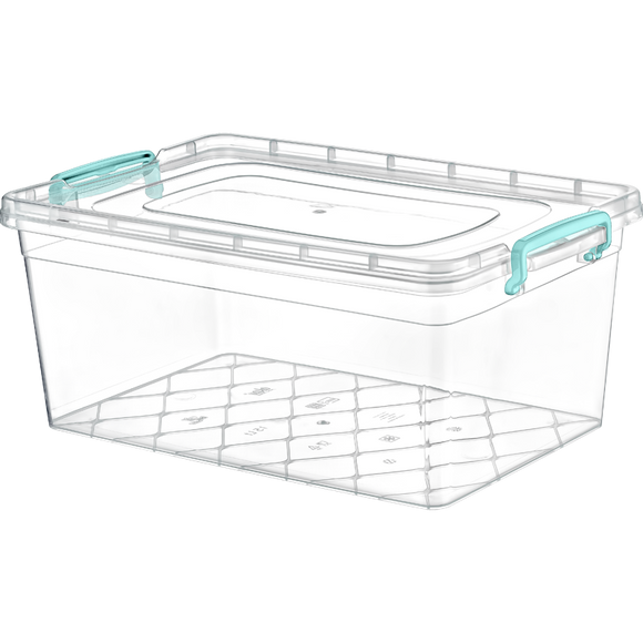Plastic Storage Box Containers With Lid - 20L