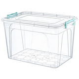 Plastic Storage Box Containers With Lid - 30L