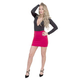 Jolie Max Women Pencil Mini Skirt Stretch Bodycon Office Casual Sizes 8 to 14