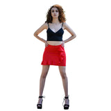 Jolie Max Women Frill Mini Skirt, Elasticated Bodycon Size 8 to 14