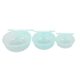 Pack of 3 Plastic Food Storage Container