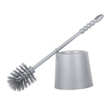 Toilet Brush with Holder - ZP121 Grey