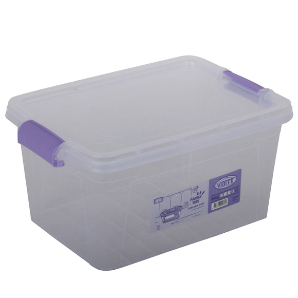Plastic Storage Box Containers With Lid - 5L