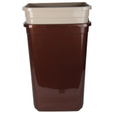 Dual Compartment Rubbish Waste Bin - 100L