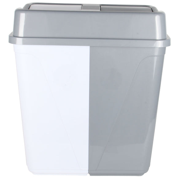 Dual Compartment Waste Bin