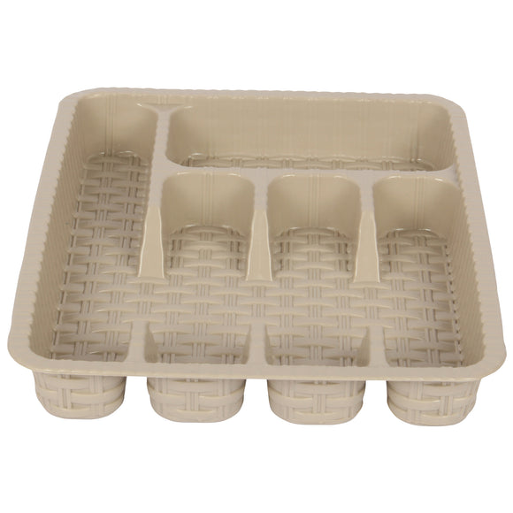 five compartment cutlery tray