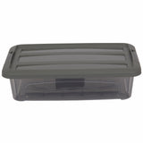Strong Plastic Microwavable Food Storage Containers with Lids. (Pack of 5 & 10).