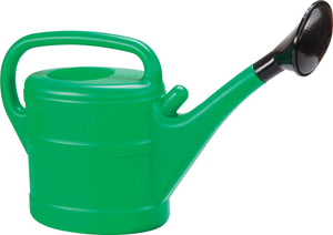 Large Sizes Garden Watering Can with Diffuser. Green Colour. (6L / 10L).