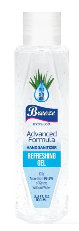 Hand Sanitiser Gel with Vitamin E & Aloe Vera - 100ml (Single)