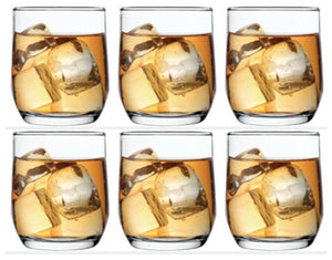 Tumbler Drinking Glasses Clear Set of 6, 315cc - SUD15