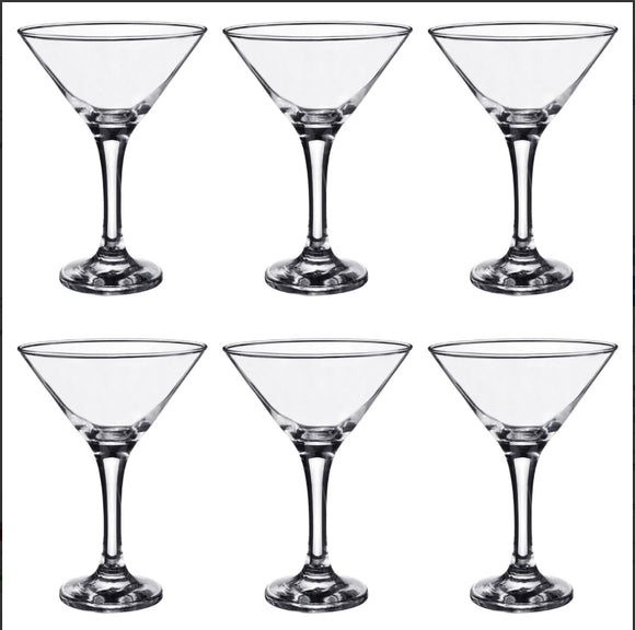 MIS586 - Martini Cocktail Glasses Set