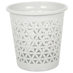 Dunya Waste Paper Bin Light Grey