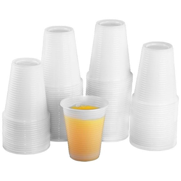 Plastic Disposable White Cups