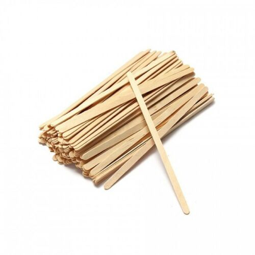 Dispo Biodegradable Disposable Wooden Stirrer.(5.5 inch / 140 mm) (Box of 10000)