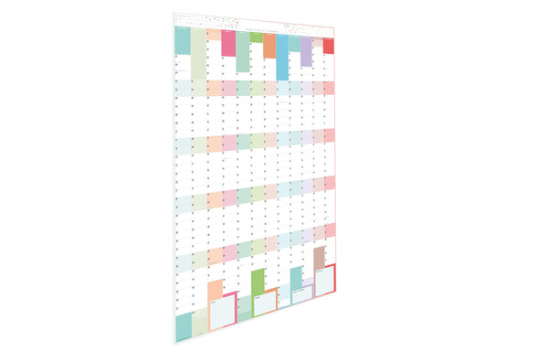 2020 Family Year Planner - Extra-large Laminated Wall Planner 2020 Family Year Planner - Extra-large Laminated Wall Planner