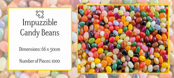 Candy Beans - Impuzzible - 1000 pieces Candy Beans - Impuzzible - 1000 pieces