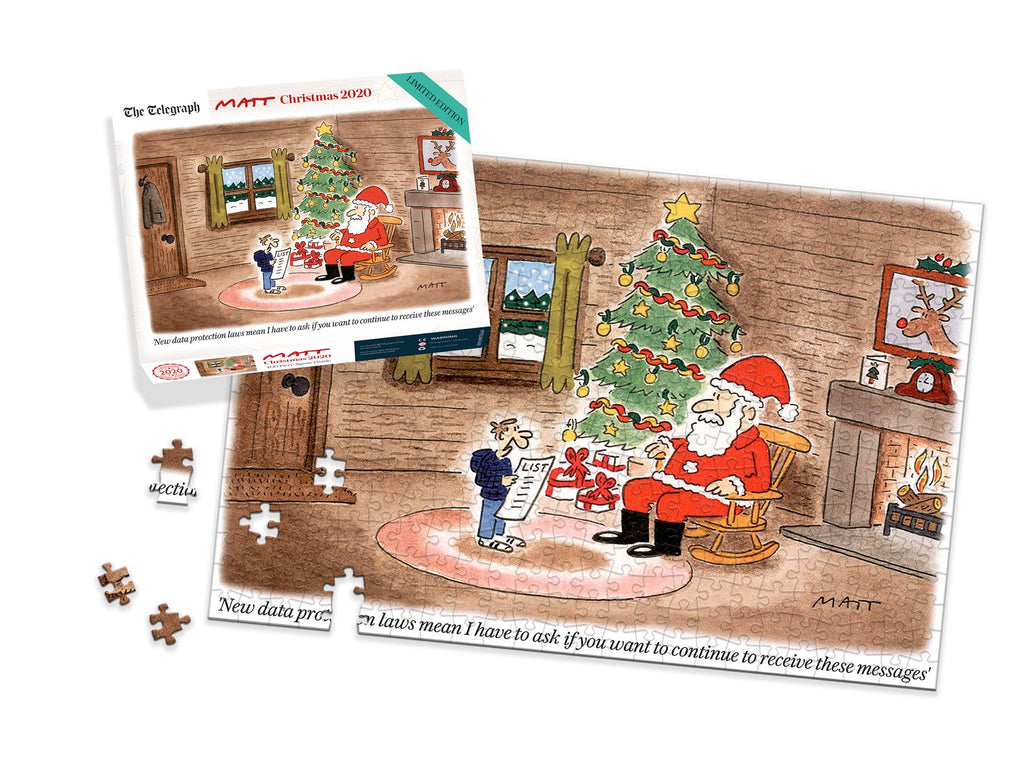 Matt Limited Edition Christmas 2020 400 Piece Jigsaw Puzzle LS