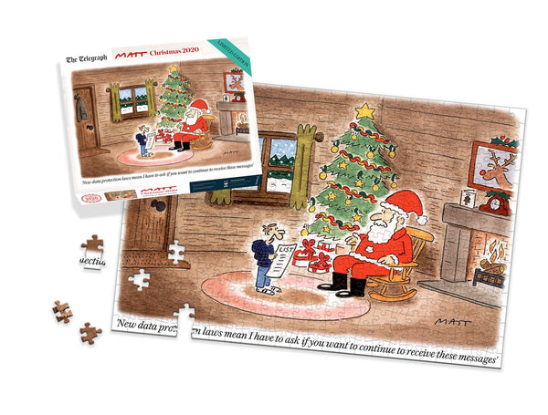 Matt Limited Edition Christmas 2020 400 Piece Jigsaw Puzzle LS Matt Limited Edition Christmas 2020 400 Piece Jigsaw Puzzle