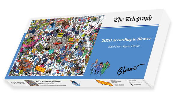 2020 According to Blower 1000 Piece Jigsaw Puzzle box 2 2020 According to Blower 1000 Piece Jigsaw Puzzle