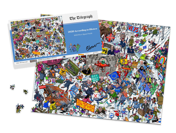 2020 According to Blower 1000 Piece Jigsaw Puzzle LS
