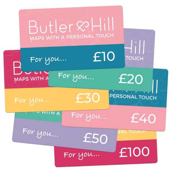 Butler & Hill Personalised Gift Card