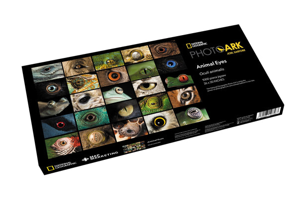 National Geographic Photo Ark – Animal Eyes 1000 Piece Nature Jigsaw Puzzle box National Geographic Photo Ark – Animal Eyes 1000 Piece Nature Jigsaw Puzzle