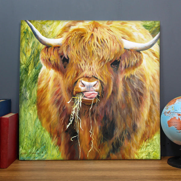 Highland Cow Art Print Collection