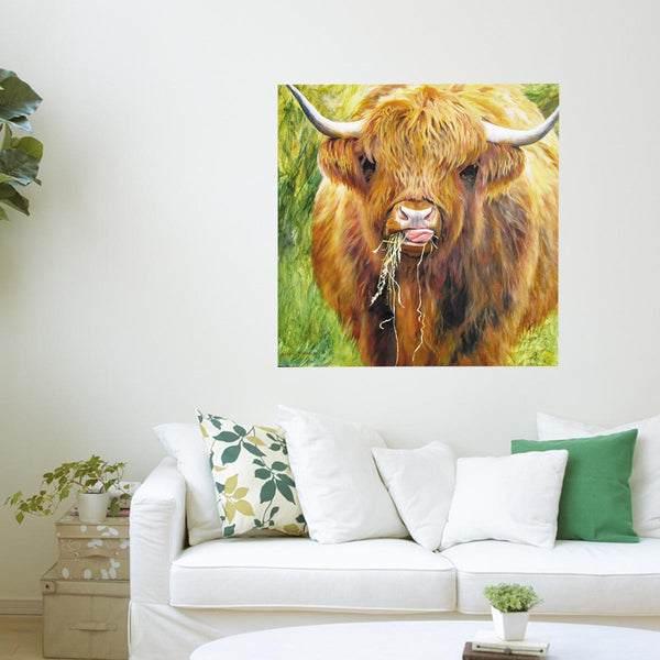 Highland Cow Art Print Collection Highland Cow Art Print Collection