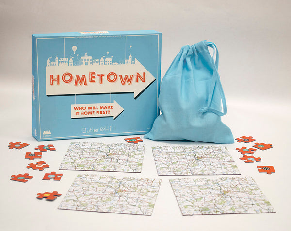 Hometown! - A Personalised Map Puzzle Game-1 Hometown! - A Personalised Map Puzzle Game