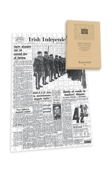 Irish Independent Front Page Jigsaw Puzzle - 1 Irish Newspaper Front Page Jigsaw Puzzle