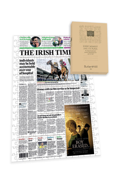 Irish Times Front Page Jigsaw Puzzle-1 Irish Newspaper Front Page Jigsaw Puzzle