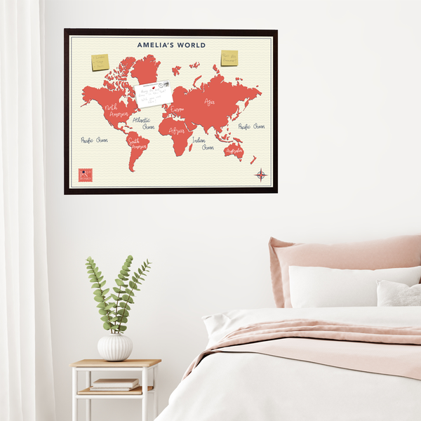 world travel planning map